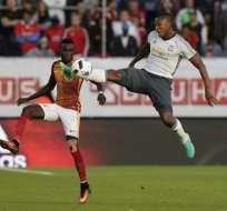Antonio Valencia dio tres asistencias para la goleada del Manchester United sobre el Galatasaray.