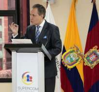 A Carlos Ochoa se lo acusa de haber abusado de la Ley de Comunicación. Foto: Archivo