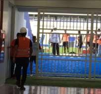 Emelec regresó a los entrenamientos en el estadio Capwell, que presenta un gran avance en los trabajos de remodelación.