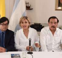 El 1 de agosto, César Montúfar de Concertación hizo oficial su alianza con La Unidad