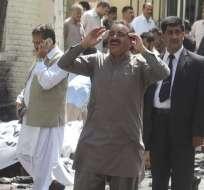 Tras el atentado, se declaró el estado de emergencia en todos los hospitales de Quetta. Foto: EFE