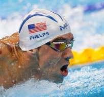 RÍO DE JANEIRO, Brasil.- Phelps lleva 19 medallas de oro ganadas. Foto: EFE.