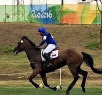 RÍO DE JANEIRO, Brasil.- Wettstein en plena competencia. Foto: COE.