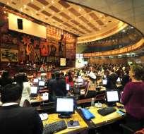 QUITO, Ecuador.- El proyecto de ley ingresará esta tarde al legislativo con carácter de económico urgente. Foto: API