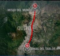 El temblor que se registró la noche de este lunes tiene relación con una de las fallas de Quito.