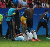 BRASILIA, Brasil.- El fútbol argentinio decepcionó en Río 2016. Foto: EFE.