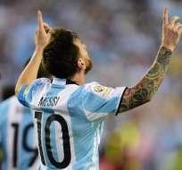 'BUENOS AIRES, Argentina.- Messi volverá a vestir la 'Albiceleste'. Foto: AFP.
