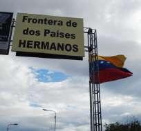 """VENEZUELA.- Los mandatarios dispusieron la apertura """"ordenada, controlada y gradual"""" de la frontera. Foto: Agencias"""