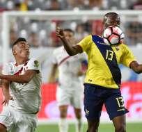 LIMA, Perú.- En la Copa América Ecuador y Perú registraron un empate. Foto: AFP.