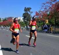 RÍO DE JANEIRO, Ecuador.- Las representantes de Ecuador quedaron en los 100 primeros lugares.