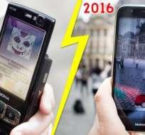 Los monstruos y los teléfonos han cambiado, pero el sentido del juego es prácticamente el mismo.