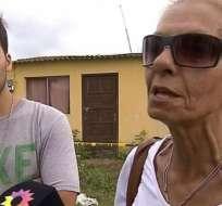 """ARGENTINA.- """"Fue positivo en cuanto a que corríamos el riesgo de que estas dos personas terminen en libertad"""", expresó Gladys Sttefani. Foto: Medios argentinos"""