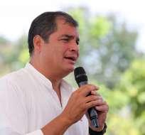 ECUADOR.- El presidente resalta la recolección de firmas, pero dice que su decisión está tomada. Foto: Presidencia de la República