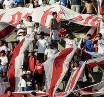 QUITO, Ecuador.- Los 'Albos' esperan el respaldo de su hinchada. Foto: API.