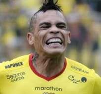 GUAYAQUIL, Ecuador.- Álvez no pudo jugar en Venezuela a causa de una fatiga muscular. Foto: API.