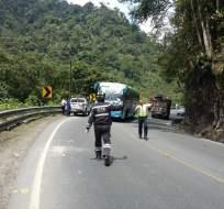Ecu 911 reportó accidente de un motociclista la tarde de este viernes 19 de agosto. Foto: ECU 911