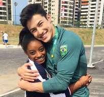 BRASIL.- La joven estadounidense no solo es una destacada deportista sino que cautiva corazones. Foto: Instagram