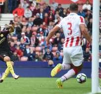 El Manchester City sigue con la buena racha y esta vez venció al Stoke por la Liga Premier de Inglaterra.