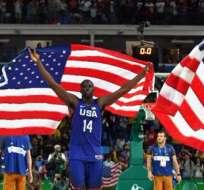 Estados Unidos derrotó a Serbia en la final de básquet olímpico y ganó la medalla de oro.