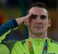 Como Arthur Zanetti, medalla de plata en gimnasia, más de 140 competidores de Brasil