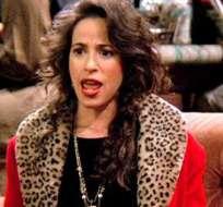 Maggie Wheeler apareció en TV e interpretó para los fans de la comedia su famosa risa.
