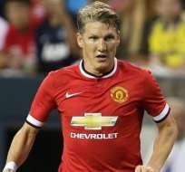 El alemán Bastian Schweinsteiger aseguró que el United será su último equipo en Europa.