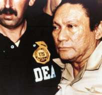 Manuel Antonio Noriega Foto: Archivo EFE