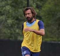 El jugador Andrea Pirlo mostró su pesar por el fuerte sismo que sacudió a Italia.