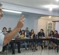 El periodista Diego Cornejo, director ejecutivo de la AEDEP, encabeza acciones para derogar la Ley de Comunicación vigente en el pais.