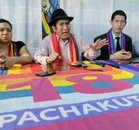 Prefecto de Zamora Chinchipe, Salvador Quishpe. Foto: Archivo API