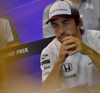 El español Fernando Alonso recibió una sanción y saldrá en el último lugar del GP de Bélgica.