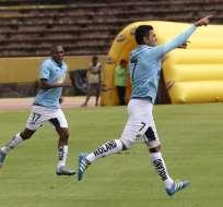 Luis Miguel Escalada fue el autor del único gol del encuentro. Foto: API