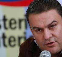GUAYAQUIL, Ecuador.- El ministro del Interior, José Serrano, indicó en su cuenta de Twitter que la Policía investiga la procedencia del artefacto. Foto: El Ciudadano.
