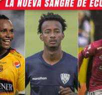 Estos son tres de los siete nuevo jugadores que aparecieron en esta convocatoria de la selección.