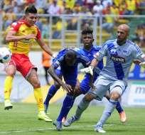 Emelec superó 3-1 a Aucas en Quito con equipo alterno por la ausencia de los convocados a la selección.