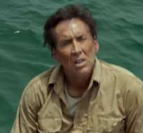 Un Nicolas Cage extenuado y sacrificado busca sorprender con su actuación en la cinta de Mario Van Peebles. Foto: Captura.