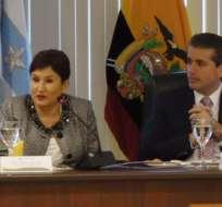 GUAYAQUIL, Ecuador.- Durante el programa se celebró un un acuerdo de adhesión a la Alianza Latinoamericana Anticontrabando.