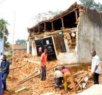 El sismo afectó sobre todo a las regiones de Kagera y Mwanza, en el noroeste del país.Foto: AFP