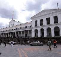 QUITO, Ecuador.- La alerta se registró esta mañana a través del Servicio Integrado de Seguridad ECU 911. Foto: API