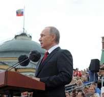 Vladimir Putin volvió a desligar al gobieron ruso del ciberataque a la AMA. Foto: EFE