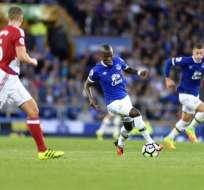 El ecuatoriano Enner Valencia debutó en el Everton, que se impuso 3-1 al Middlesbrough.