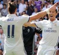 Gareth Bale (11) y Cristiano Ronaldo se perderán el duelo ante el Espanyol.