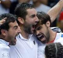 El equipo croata superó a Francia y accedió a la final de la Copa Davis 2016.
