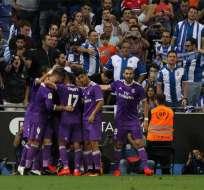El Real Madrid derrotó de visitante al Espanyol y logró una marca en la Liga española.