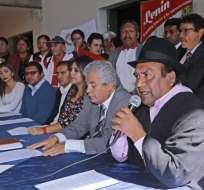 QUITO, Ecuador.- Organizaciones sociales afines al Gobierno nacional piden un binomio electoral que esté conformado por el exvicepresidente de la República, Lenín Moreno, y a un binomio mujer. Foto: API