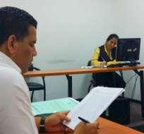 Entre los implicados se registran empleados de OGC y funcionarios del Senae. Foto: Fiscalía