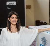Virginia Raggi, alcaldesa de Roma, no está de acuerdo con una candidatura de la ciudad para los JJ. OO. de 2024.