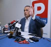 ECUADOR.- Carrasco señaló que si su nombre no es considerado en la designación del candidato presidencial por la Unidad, no se postulará a la Asamblea. Foto: API