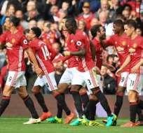 Los 'diablos rojos' volvieron a ganar en la Premier League tras dos derrotas consecutivas. Foto: AFP