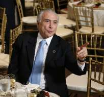 BRASIL.- La investigación sobre el mandatario brasileño es por presunto pedido de recursos en 2012. Foto: AFP